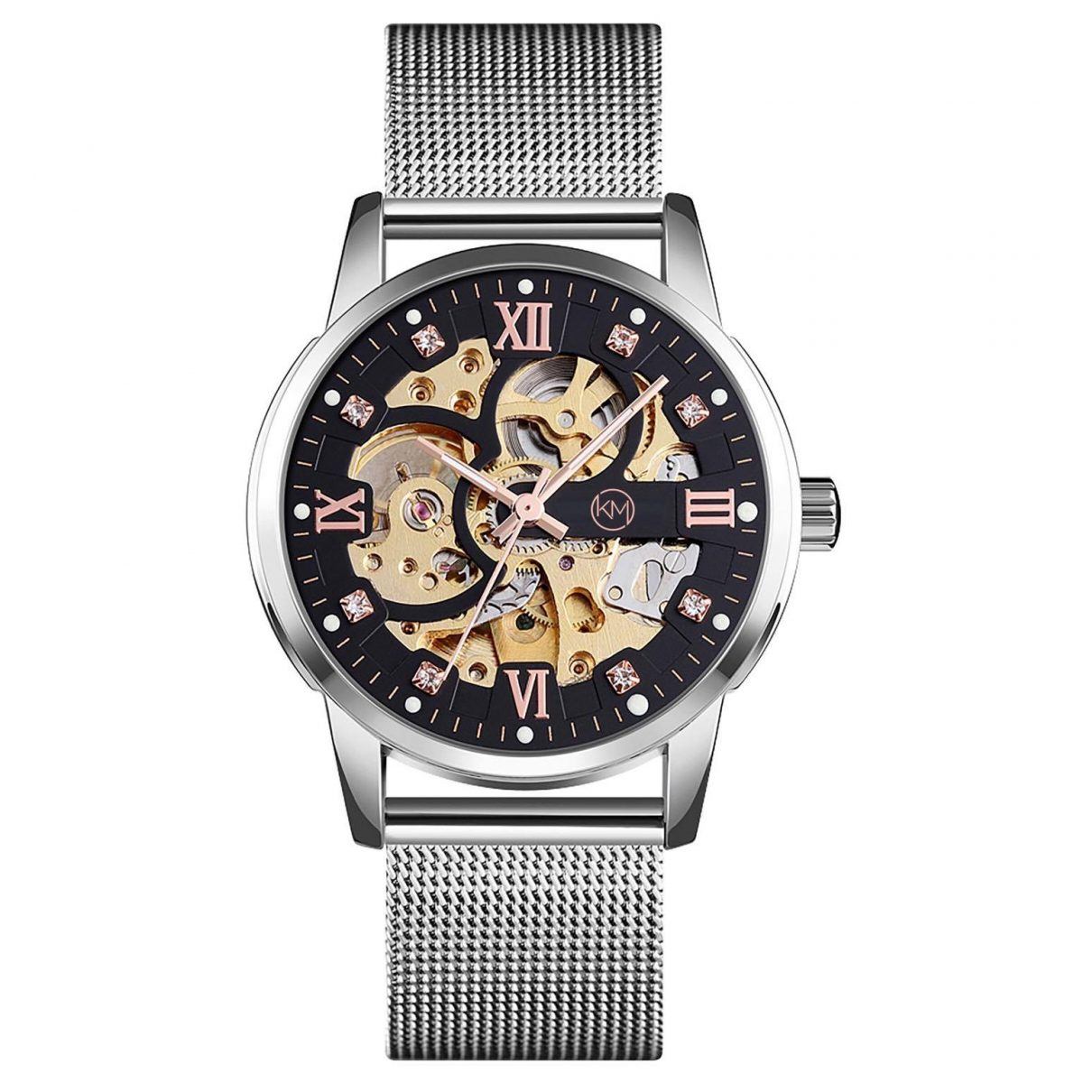 40mm Automatic Skeleton watch